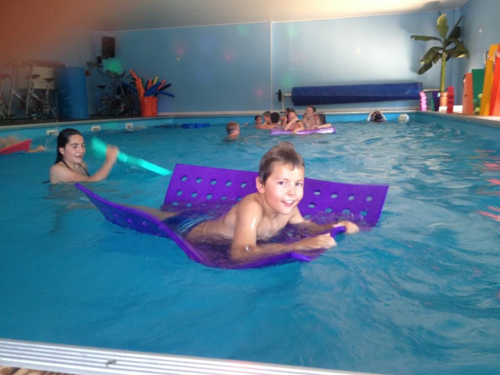 Anniversaires enfants au centre sportif aquatique : Aqua Form'Action - Guéreins 01090 (Ain)